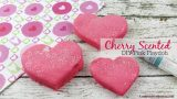 DIY Valentine Cherry Scented No Cook Pink Playdoh