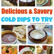 Delicious and Savory Cold Dips to Try