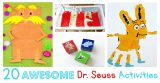 Awesome Dr. Seuss Activities and Crafts
