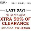 LAST DAY! Eddie Bauer EXTRA 50% Off Clearance!